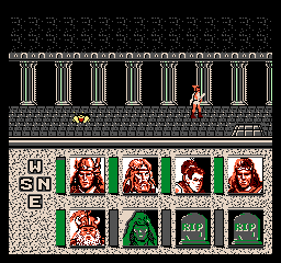 Screenshot #2 Advanced Dungeons Dragons Heroes Of The Lance