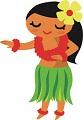 Hawaiian dancing