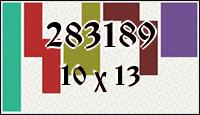 Полимино №283189