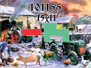 O quebra-cabeça полимино №101155