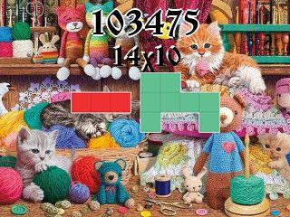 O quebra-cabeça полимино №103475
