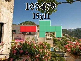 O quebra-cabeça полимино №103479