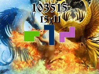 O quebra-cabeça полимино №103515