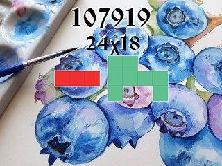 O quebra-cabeça полимино №107919