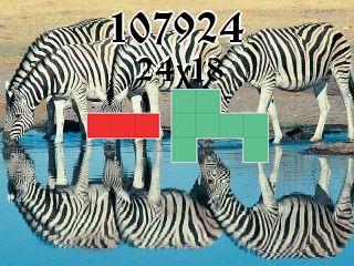 O quebra-cabeça полимино №107924
