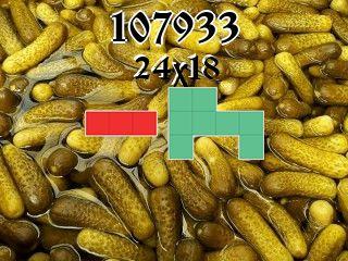 O quebra-cabeça полимино №107933