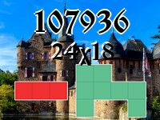 O quebra-cabeça полимино №107936