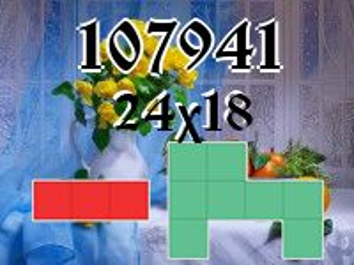 O quebra-cabeça полимино №107941