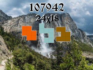 O quebra-cabeça полимино №107942