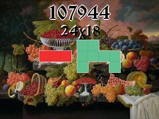 O quebra-cabeça полимино №107944
