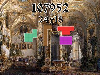 O quebra-cabeça полимино №107952
