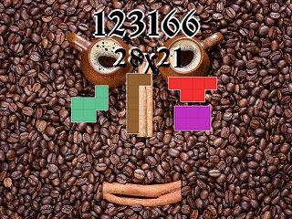 O quebra-cabeça полимино №123166