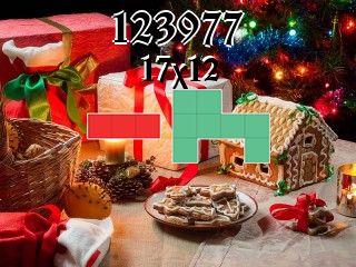 O quebra-cabeça полимино №123977