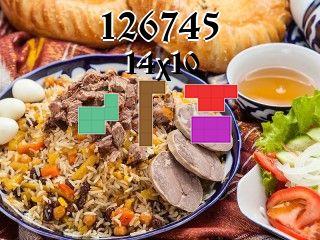 O quebra-cabeça полимино №126745