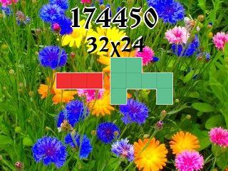 O quebra-cabeça полимино №174450