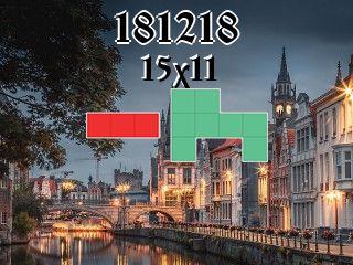 O quebra-cabeça полимино №181218