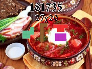 O quebra-cabeça полимино №181735