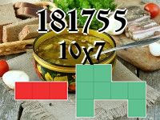 O quebra-cabeça полимино №181755