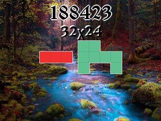O quebra-cabeça полимино №188423