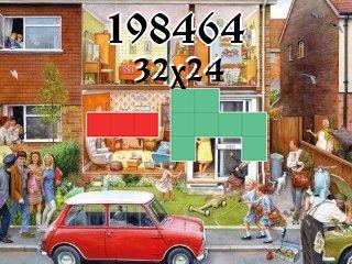 O quebra-cabeça полимино №198464