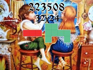 O quebra-cabeça полимино №223508