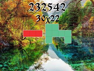O quebra-cabeça полимино №232542