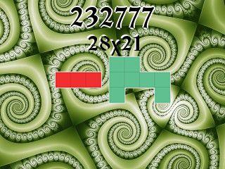 O quebra-cabeça полимино №232777