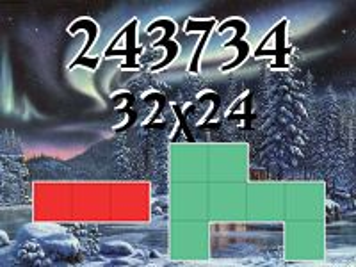 O quebra-cabeça полимино №243734