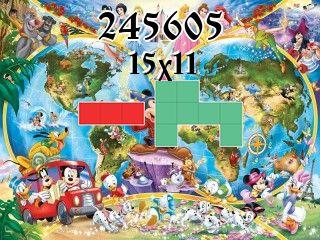 O quebra-cabeça полимино №245605