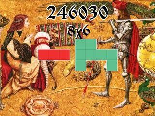 O quebra-cabeça полимино №246030