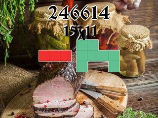 O quebra-cabeça полимино №246614