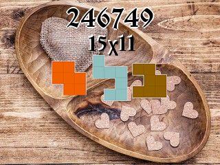 O quebra-cabeça полимино №246749