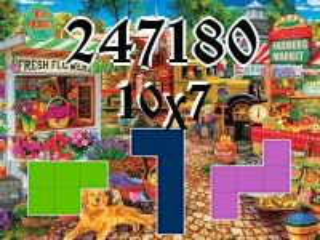 O quebra-cabeça полимино №247180