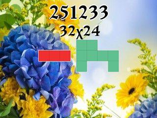 O quebra-cabeça полимино №251233