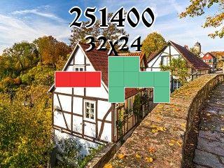 O quebra-cabeça полимино №251400