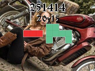 O quebra-cabeça полимино №251414