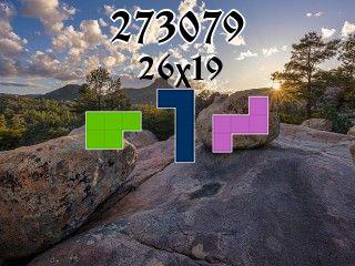 O quebra-cabeça полимино №273079