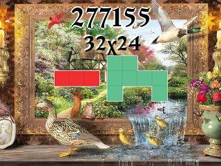 O quebra-cabeça полимино №277155