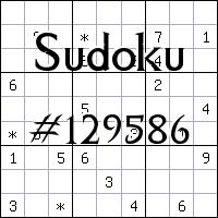 Sudoku №129586