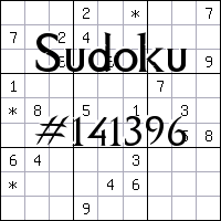 Sudoku №141396