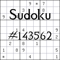 Sudoku №143562
