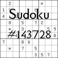 Sudoku №143728