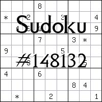 Sudoku №148132