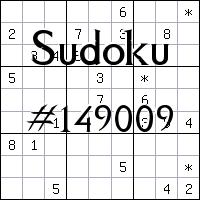 Sudoku №149009