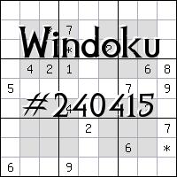 Vindoku №240415