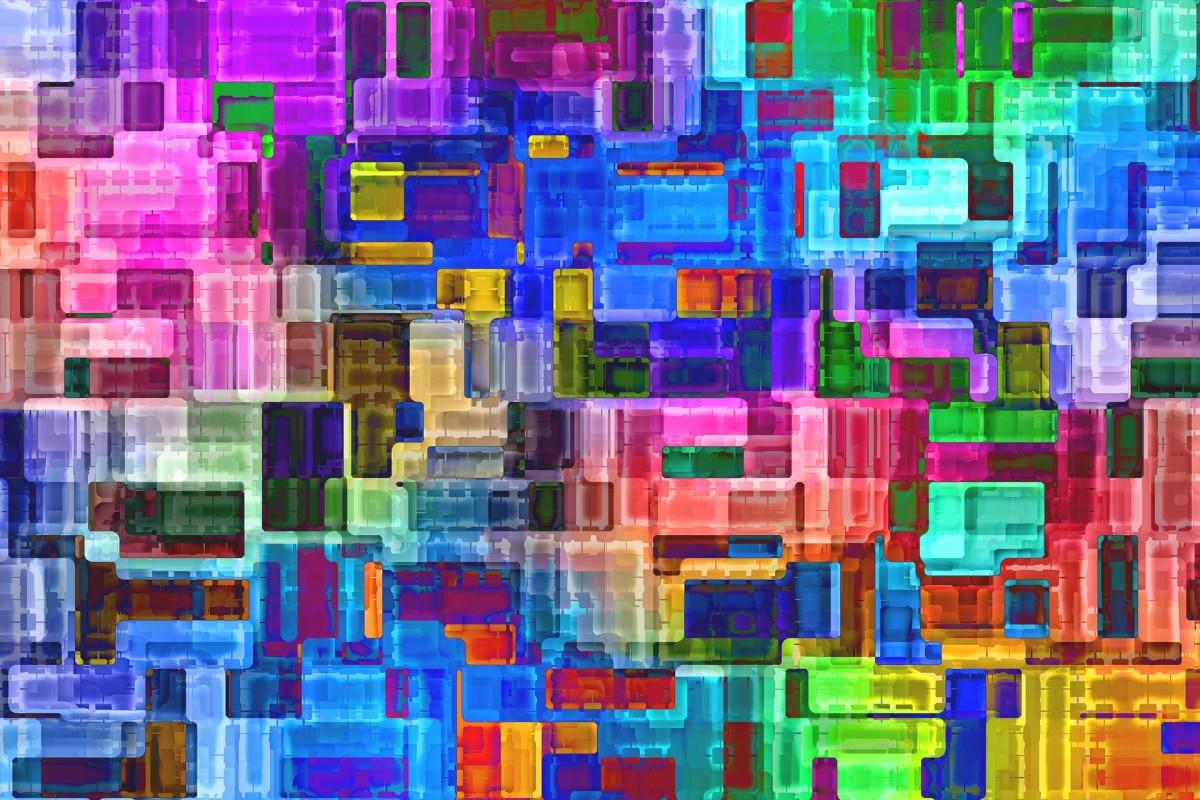 O quebra-cabeça Recolher o quebra-cabeças on-line - Abstract city