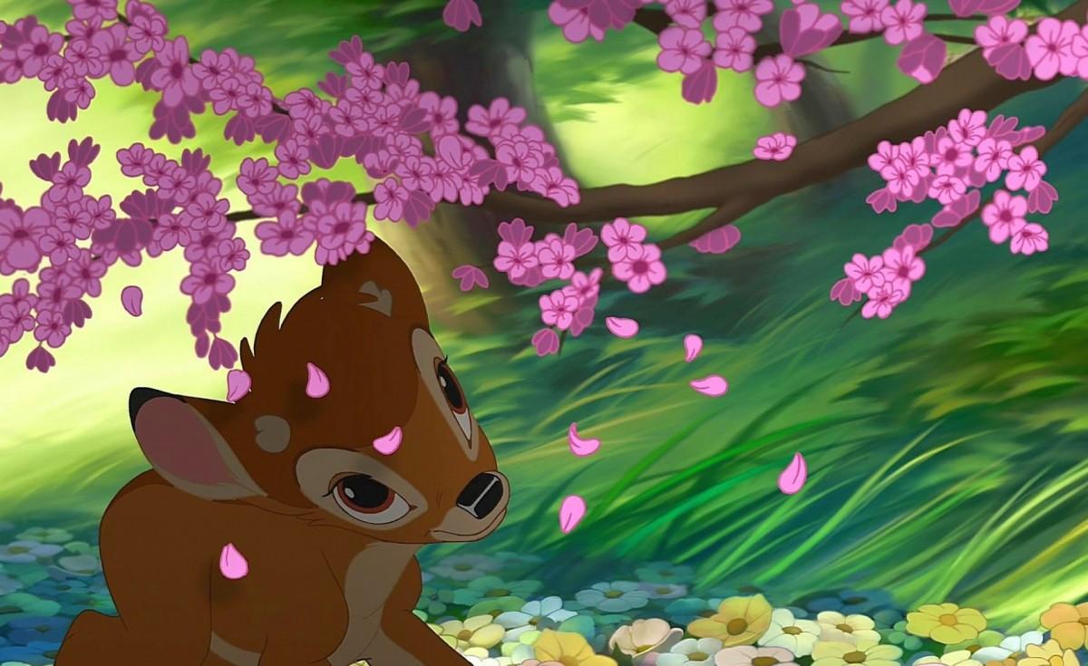 O quebra-cabeça Recolher o quebra-cabeças on-line - Bambi