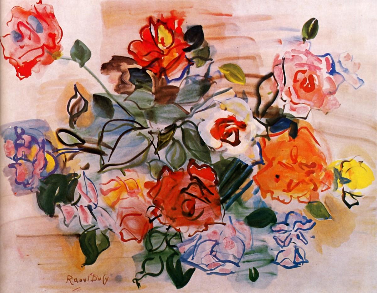 O quebra-cabeça Recolher o quebra-cabeças on-line - Bouquet of watercolors