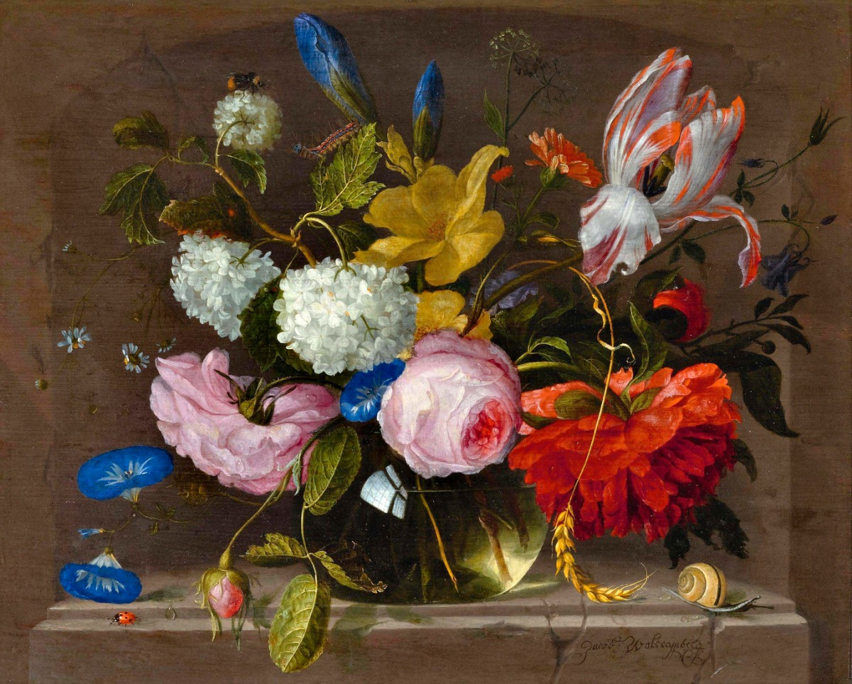 O quebra-cabeça Recolher o quebra-cabeças on-line - Bouquet in a vase
