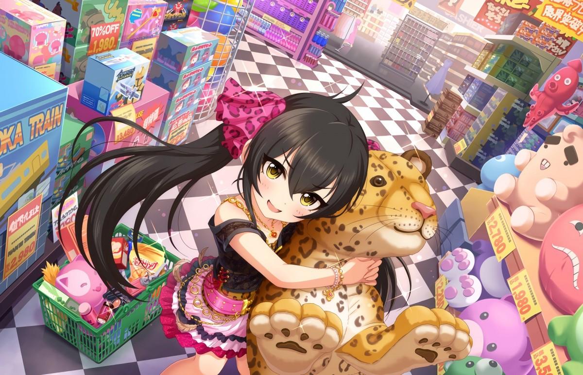 O quebra-cabeça Recolher o quebra-cabeças on-line - The girl and the leopard